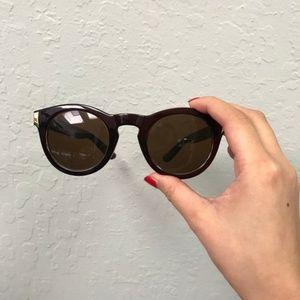 Karen Walker Round Tortoiseshell Sunglasses